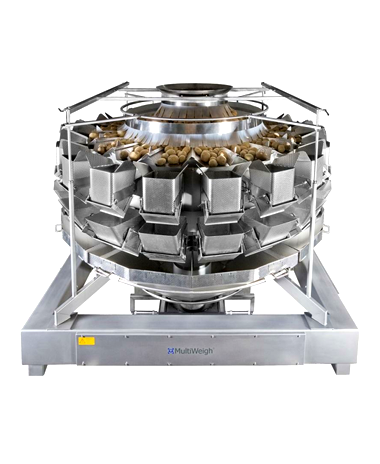 14 head MultiWeigh multi head weigher for automated weighing