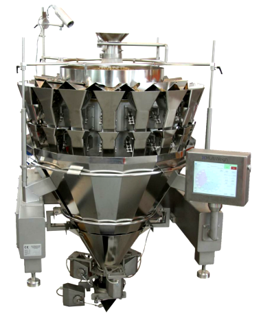 18 head MultiWeigh multi head weigher for automated weighing