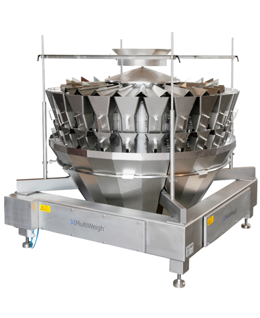 24 head MultiWeigh multi head weigher for automated weighing