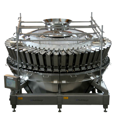48 head MultiWeigh multi head weigher for automated weighing